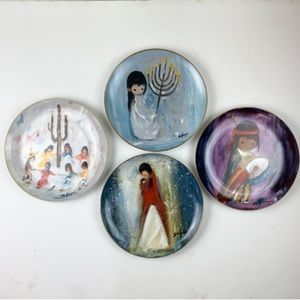 Artist of the World Four De Grazia Series Plates